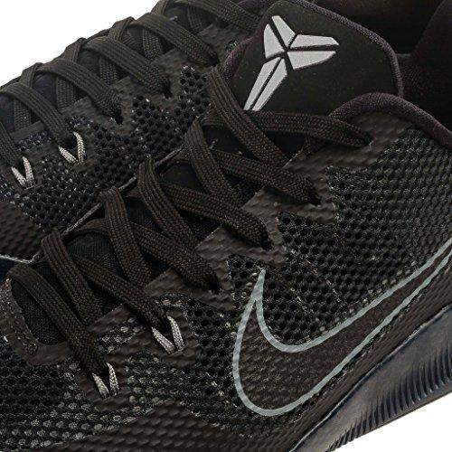 Nike Kobe Xi, Chaussures de Sport-Basketball Homme, 44 EU Noir (Black / Black-Cool Grey)