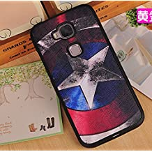 Prevoa ® 丨Huawei G8 Funda - Colorful Silicona Funda Cover Case para Huawei G8 Android Smartphone - 5