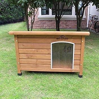 Pets Imperial® Norfolk Chenil Isolé En Bois très moyen taille chien Avec Plancher Amovible Pour Un Nettoyage Facile B