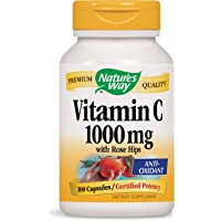 Vitamine C 1000 Nature's Way à l'églantier