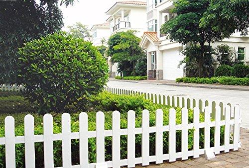 great usado valla de plstico para el jardn valla decorativa with cubre vallas de jardin - Valla De Jardin