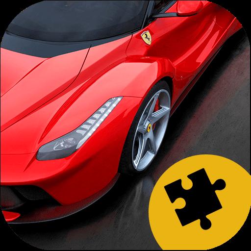 Cars Jigsaw Puzzle Game - Piggy Italienisch
