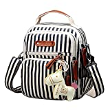 JUND Damen Vintage Leinwand Umhängetasche Druck Handtasche Mode Lässig Rucksack Elegant Bohemian Stil Messenger Bag