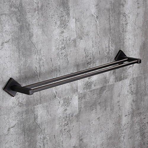 S-Senrohy Moderne Stil Handtuchhalter Wandmontierte Massivem Messing Bad Handtuchhalter Platz Badezimmer Doppelschiene Handtuchhalter Towel Bars1 -