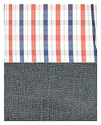 Siyarams Mens Shirt and Trousers Fabrics (Multi-Coloured and Blue )