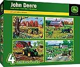500pc John Deere 4-Pack