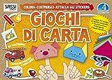 Scarica Libro Giochi di carta Colora costruisci attacca gli stickers Ediz illustrata 4 (PDF,EPUB,MOBI) Online Italiano Gratis