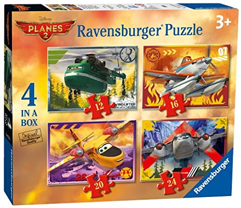 Ravensburger Disney Planes 4-in-box