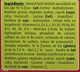 Blédina Blédidej 12 briques Croissance Céréales Lactées Biscuité Miel dès 12 mois (Pack de 3x4 briques)