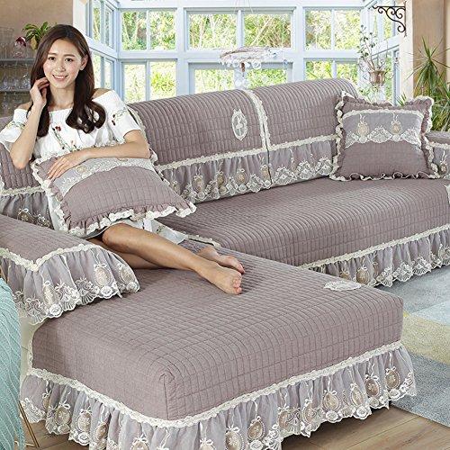 Copridivano salvadivano per divano con penisola/scudo di mobili in stile morsetto soldi,slipcovers divano per il salone,soft durevole rimanere in posizione -1 pezzo-b 90x180cm(35x71inch)