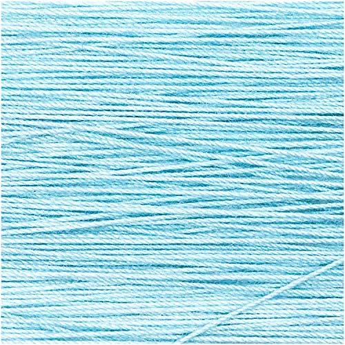 Rico Design 5g Spitzengarn - Farbe: 004 - Flieder - Häkelgarn für Taschentücher