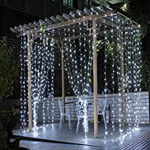 Tenda Luminosa Catena Luminosa 3m x 3m 300 LED Bianco