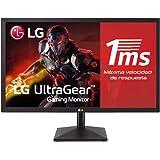 """LG 24MK400H-B - Monitor Gaming de 59,8 cm (23.8"""") Full HD (1920 x 1080, TN, 16:9, HDMI x1, D-SUB x1, AUX x1, 1ms, Antireflejo"""