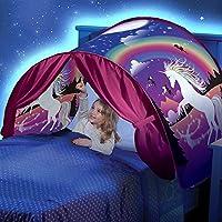 Tenda da sogno-pieghevole Galaxy Starry Sky Dream Tenda Kids Pop Up Bed Tenda Playhouse, grandi regali per i bambini (unicorno)