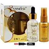 Mars 2in1 Face Primer and Makeup Fix Spray-58739 with Adbeni Kajal