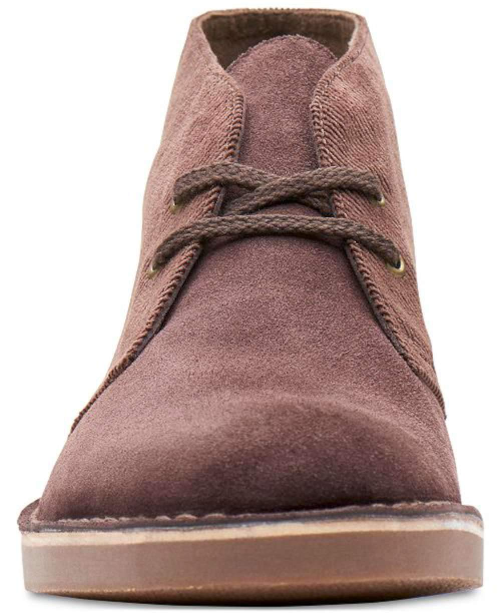 CLARKS Mens Bushacre 2 Fabric Closed Toe Ankle Fashion, Brown Cord, Size 9.0 3