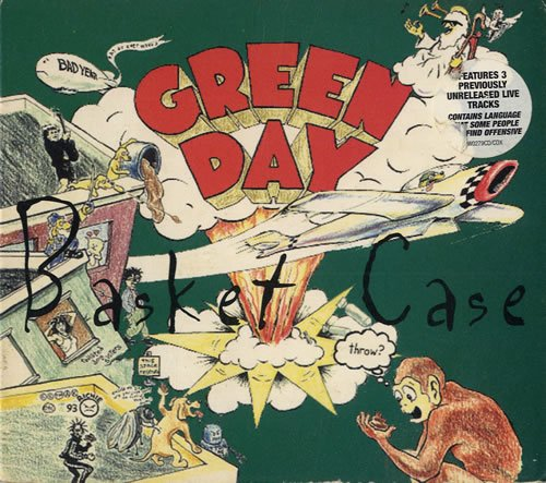 Green Day Basket Case - Reissue Digipak 1995 UK CD single W0279CDX