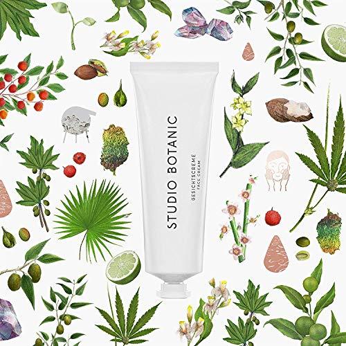 Studio Botanic Gesichtcreme - für Tag und Nacht - 50 ml Alutube - 100% Rein Natürlich -...