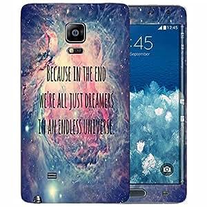 Theskinmantra Endless Universe Samsung Galaxy Note Edge mobile skin