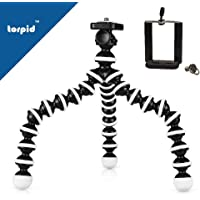Gorilla Tripod 10Inch - Multi-Use Travel Tripod for DSLR, Mobile Phone, Go Pro, Point & Shoot Cameras and Action Cameras -by torpid
