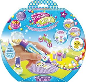 Beados - Glitter Starter Pack - Kit d'Initiation Magic Perl' Version Anglaise