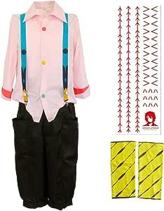 papapanda Hosentr/äger f/ür Juzo Suzuya Tokyo Ghoul Juuzou Kost/üm Halloween Karneval