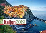 Italien ReiseLust 2019, Wandkalender im Querformat (45x33 cm) - Reisekalender mit Monatskalendarium - Ackermann Kunstverlag