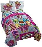 Shopkins Comforter and Twin Sheet Set Girls Bedding
