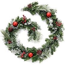 WeRChristmas - Ghirlanda natalizia decorativa da 180