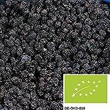 Bacche di aronia bio 1kg, gustose bacche di aronia essicate, senza solfiti e senza aggiunta di zuccheri, da coltivazione biologica controllata
