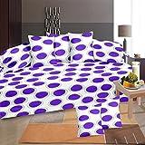 #7: Home Elite 8 Piece 104 TC Cotton Diwan Set - Multicolour
