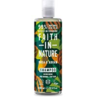 Faith In Nature Natural Shea and Argan Shampoo, Nourishing, Vegan and Cruelty Free, No SLS or Parabens, For Normal to…