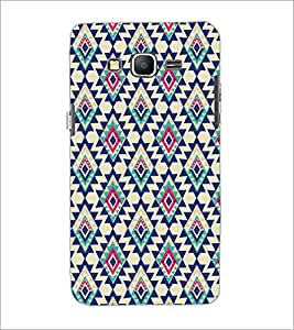 PrintDhaba Diamond Pattern D-5391 Back Case Cover for SAMSUNG GALAXY GRAND PRIME (Multi-Coloured)