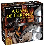 Quotes from George R.R. Martin's Game of Thrones – Zitate aus Game of Thrones 2019 (Tagesabreißkalender)