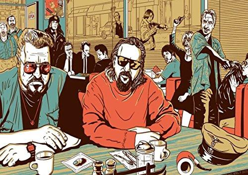 Poster Big Lebowski Pulp Fiction Wall