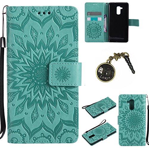 PU Silikon Schutzhülle Handyhülle Painted pc case cover hülle Handy-Fall-Haut Shell Abdeckungen für Honor 5C (+Staubstecker) (7FF) 2