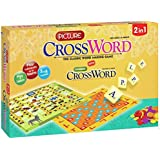 GRAPPLE DEALS Picture CrossWord Board Game For Kids A Perfect Board Game For Kids.