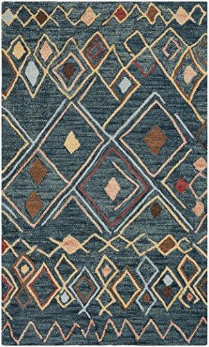 Dark Multi Teppich (Safavieh Variation Familie: 4398 Parent Variation Familie: 4398-P Modern 3' x 5' Dark Blue/Multi)