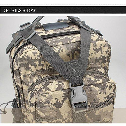 Esercito stile militare da trekking borsa grande capacità di alta qualità alpinismo Outdoor Camouflage Sport sacchetti, Digital Jungle Digital Desert