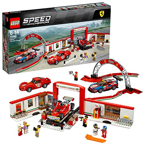 LEGO- Speed Champions Garage Ferrari, Multicolore, 75889