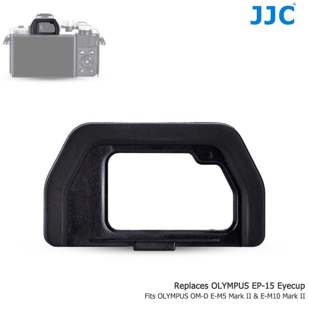 JJC EO-EP15 Conchiglia Oculare Standard per Olympus OM-D E-M5 Mark II & OM-D E-M10 Mark II - -Sostit
