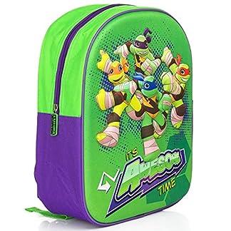 61IJYpJDIQL. SS324  - Tortugas ninja Mochila escolar 3D infantil, bolso de escuela niño