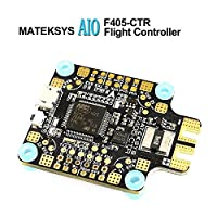 LITEBEE Matek AIO F4 Flight Controller (Intergreted PDB 4*30A, Bateflight OSD, BEC 5V/2A&9V/2A, SD Card Slot, VCP+5x UARTs, Current Sensor 200A) for FPV Racing RC Drone Quadcopter by from LITEBEE