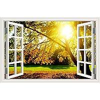 Home Decor Vinilo adhesivo de pared 3D, diseño de papel pintado con paisaje, W0291, 28