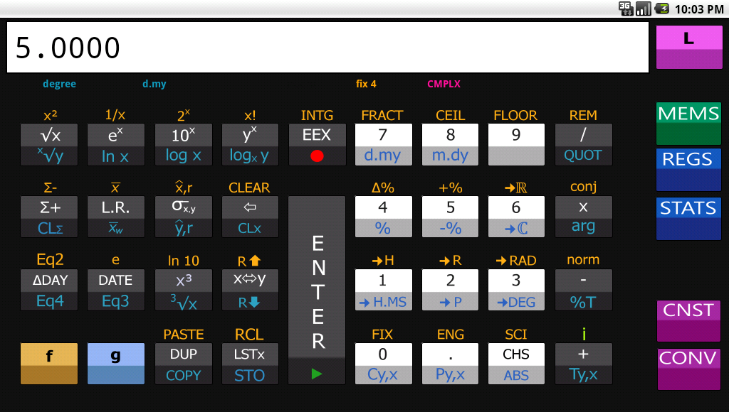 A Scientific RPN Calculator (HP-11C Likewise): Amazon.co