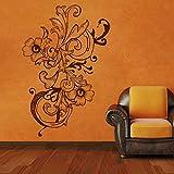 DreamKraft Bunch Of Flower Wall Sticker For Kids Room |Living Room|Bedroom|Office PVC Vinyl Art Decals(25X37 Inch)
