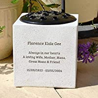 Fully Bespoke Personalised Customised Memorial Grave Side Flower Vase Pot