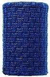 Buff Neck Warmer Knitte, Calentador de Cuello de Forro Polar, Azul (Blue), Talla Única