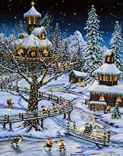 Vermont Christmas Weihnachten im Wald Adventskalender