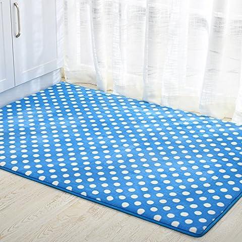 YangR* corale stuoie Fußmatte ricezione ricezione Fußmatte Fußmatte Eingangsmatten inizio può ''90*160cm, di colore blu pallido